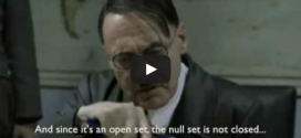 Math News: Hitler Learns Topology